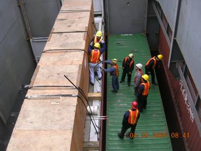 Inspect Cargo on ships prior to sailing
